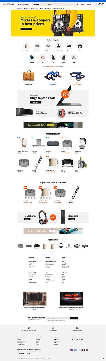 E-ticaret Tema52