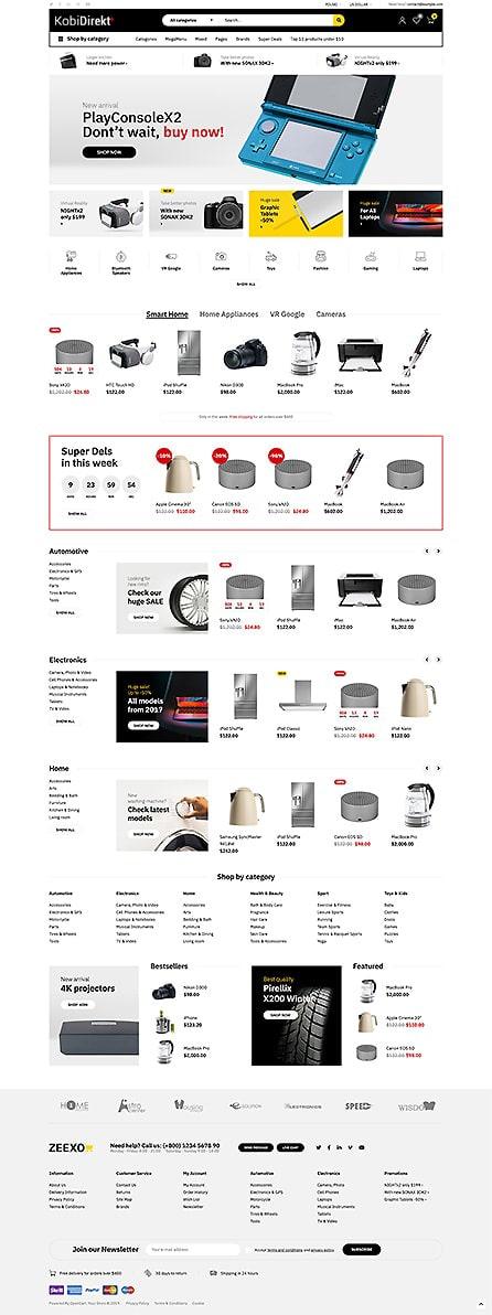 E-ticaret Tema65
